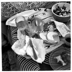 Picknick (Mattias Lindgren) Tags: square medium format 6x6 pentacon six tl film carl zeiss jena picknick mf ddr bw foma scan fomapan 100 linköping mc biometar 2880 80mm f28 8 minutes rodinal 150 analog 120film 8minutes 80mmf28 mcbiometar2880carlzeissjena carlzeissjena fomapan100 mediumformat pentaconsixtl rodinal150