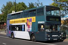 Volvo B7TL TransBus ALX400 (DennisDartSLF) Tags: ipswich bus volvo b7tl transbus alx400 32487 first firstipswich au53hke