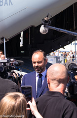 French Prime Minister Édouard Philippe (Niall McCormick) Tags: show paris air le bourget 2019 french prime philippe minister édouard édouardphilippe