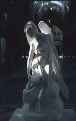 Anatomy of an Angel by Damien Hirst 3 (vickyhindle) Tags: 35mmfilmphotography canoneos3 canonef50f14 anatomyofanangel damienhirst slidefilm