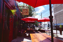 Red Light Ramen (Trevor Sowers) Tags: kodak ektachrome ektachromee100 film 35mm slidefilm nelsonbc ramen eos1v canoneos1v canonef24mmf14liiusm