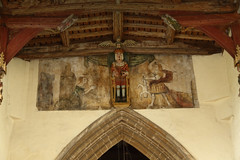 Judgement of Soloman, All Saints Church Walsoken (Paul Braham Photography) Tags: church medieval historic norman religion religious architecture romanesque