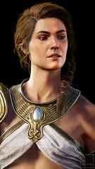 Goddess of War (ilikedetectives) Tags: kassandra assassinscreed assassinscreedodyssey acodyssey acphotomode gaming gamecaptures game ingamephotography videogames virtualphotography portrait athena greekmythology greek