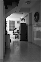 . (Out to Lunch) Tags: homework binh tan saigon ho chi minh city vietnam blackwhite monochrome house fuji xh1 xf1423r low light happyplanet asiafavorites