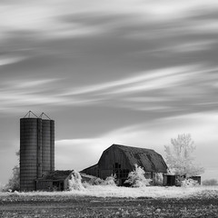 IN BALANCE (Nenad Spasojevic) Tags: white landscape monochrome nenad nenografiacom sony infraredlight longexposure windpaintedclouds bnw country infrared ir shadow 2019 inbalance spasojevic bw shades blackandwhite 830nm black a7r tones sonyalpha fineart nenadspasojevicart monoart light chicago illinois il