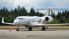 VP-CCW - Jet Aviation Business Jets - Gulfstream Aerospace G650ER (bcavpics) Tags: britishcolumbia campbellriver canada plane airplane aircraft aviation aerospace gulfstream bizjet g650 jetaviationbusinessjets vpccw ybl cybl bcpics