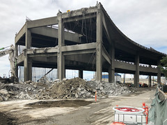 The viaduct's last stand (WSDOT) Tags: seattle gp construction wsdot alaskan way viaduct replacement demolition 2019
