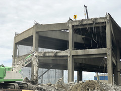 The south end of the viaduct (WSDOT) Tags: seattle gp construction wsdot alaskan way viaduct replacement demolition 2019