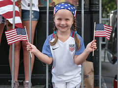USWNT Victory Parade 2019 (tai_lee2) Tags: victory parade uswnt team soccer nyc world cup champions hero ticker tape celebration crowd people person flag banner barrier street road sign trophy usa fans manhattan cheer patriotic equal pay