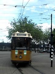 RET Tram 537 on  city tour in Rotterdam 09/07/19. (Ledlon89) Tags: rotterdam haarlem nl holland netherlands transport tram train sprinter signs