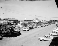 Lannercost St Ingham (Queensland State Archives) Tags: queensland qld australia blackandwhite bnw vintage history archives historical 1940s old photography photograph photo image town city people construction work workers train country sky clouds