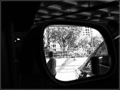 man in mirror (Nor Salman) Tags: breakfast gh3 idris m43 meli panasonic25mm14 saffron su