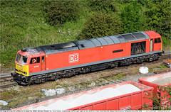 60062GB_PeakForestSB_220619 (Catcliffe Demon) Tags: railways railroading uk ukrailimages2019 dbcuk dbcargouk dbcargo ews class60 tug brushtraction brushtype5 diesellocomotive aggregates rosters lightengine derbyshire peakdistrict