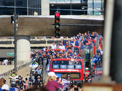 chicago cubs world series parade. 2016 (timp37) Tags: november 2016 chicago illinois world series parade bus baseball