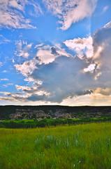 Badlands Dissipation (evanlochem) Tags: severe thunderstorm alberta canada prairies july summer supercell storm cumulonimbus flanking line updraft base tolman badlands red deer river valley dry island buffalo jump provincial park
