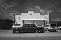 it rolls (Robert Couse-Baker) Tags: sacramento artifacts infrared volvo volvo164 164