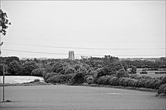 Beverley Minster  Monochrome (brianarchie65) Tags: bentley beverley minster fields tress bushes hedges geotagged brianarchie65 canoneos600d eastyorkshire eastriding a164 dunflatroad beverleyminster monochrome