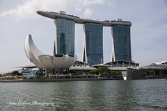 Singapore (Anna Calvert Photography) Tags: singapore city asia skyline harbour landscape skyscrappers boats ferries waterfront