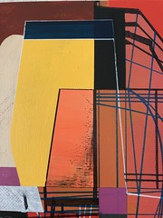 Jim Harris: Nummer Einundzwanzig. (Jim Harris: Artist.) Tags: art arte painting kunst peinture avantgarde lartabstrait geometric geometrický geometrisk saatchi schilderij schoolofthemuseumoffinearts duxbury japan bilder artist