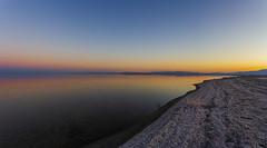 Serene Smooth Still Surface Scenic Salton Sea Sunset (slworking2) Tags: niland california unitedstatesofamerica saltonsea bombaybeach sunset twilight lake still smooth reflection reflective