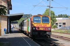 Diekirch, RB CFL Richtung Luxemburg (jopol1955) Tags: eisenbahn cfl rb diekirch dikrech lëtzebuerg luxemburg luxembourg zug train öpnv