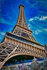 Eiffel tower restaurant, Las Vegas (indranilc74) Tags: lasvegas nevada lasvegasnevada eiffeltowerrestaurant lasvegasstrip lumix