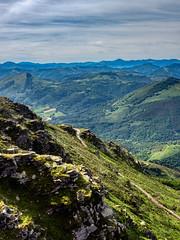 On top of La Rhune (tjmic_92) Tags: france larhune paysbasque