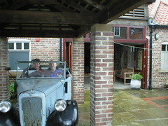 Austin Seven (AJO 71) (Ray's Photo Collection) Tags: thirsk north yorkshire yorks ray ann austin seven 7 jamesherriot allcreaturesgreatandsmall