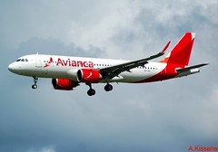 AVIANCA A321Neo VQ-BXI (Adrian.Kissane) Tags: flight flying airliner airline jet plane aeroplane aircraft airbus ireland arriving aviation landing sky outdoors shannonairport 7698 862019 a321 vqbxi shannon avianca
