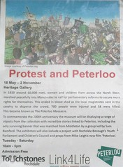 Touchstones Museum, Rochdale exhibit: Protest and Peterloo (Diego Sideburns) Tags: rochdale touchstones museum protest peterloo protestpeterloo manchester