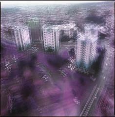shef (steve-jack) Tags: hasselblad 501cm 50mm cfi lomography purple multiple exposure film 120 6x6 medium format tetenal c41 kit epson v500 lomochrome xr 100 400
