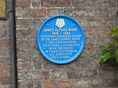 James Herriot Museum (Ray's Photo Collection) Tags: thirsk north yorkshire yorks plaque jamesherriot allcreaturesgreatandsmall museum
