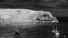 D7K_1093: Lulworth Cove Infrared [In Explore] (Colin McIntosh) Tags: dorset infrared lulworthcove nikon d7100 kolari 720nm 50mm h f2 manual focus
