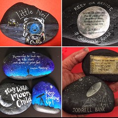 Moon Rocks ready for hiding 20th July for the 50th Anniversary of the moon landing. Each rock carries the stroke message Act FAST (Andreadm66) Tags: moon art stars space painted astronaut hobby jodrellbank quotes spaceman astronomy universe moonrock healthpromotion paintedrocks strokeawareness moonlanding manonthemoon apollo50