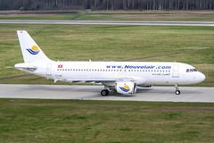 TS-INE (PlanePixNase) Tags: aircraft airport planespotting haj eddv hannover langenhagen nouvelair airbus 320 a320
