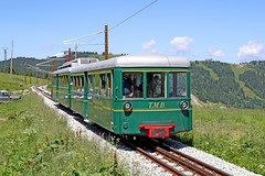 Anne - Mont Blanc Tramway (Roger Wasley) Tags: anne montblanc tramway tmb tramwaydumontblanc france french mountain train railway alpine motor coach alps