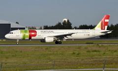TAP CS-TJH, OSL ENGM Gardermoen (Inger Bjørndal Foss) Tags: cstjh tap airbus a321 osl engm gardermoen