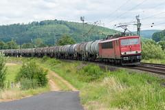 155 055 in Wirtheim (_VT2E_) Tags: 155055 fwir güterzug kesselwagen rpool wirtheim