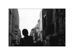 *街に明かりが灯る頃 (niko**) Tags: leicaii hektor5cmf25 ilford panfplus50 135 35mm filmphotography yokohama leica