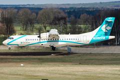 I-ADLS (PlanePixNase) Tags: aircraft airport planespotting haj eddv hannover langenhagen airdolomiti atr72 atr 72 at7