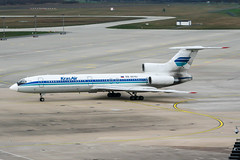 RA-85702 (PlanePixNase) Tags: aircraft airport planespotting haj eddv hannover langenhagen tupolev t154 tu154 154 krasair