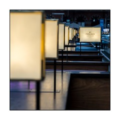 047/100X 2019 (neals pics) Tags: my100x–squareformat 100xthe2019edition 100x2019 image47100 london station railway st pancras cafe lights perspective