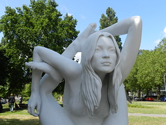 Myth (Kate Moss) (José D...) Tags: artzuid amsterdamzuid amsterdam beeldententoonstelling art artofimages artphotography myth sphinx marcquinn1964 unitedkingdom 2019