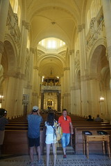 Interior, Shrine of Our Lady of ta' Pinu, Gozo, Malta