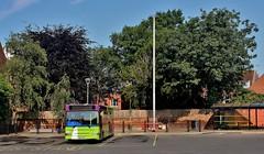 SN53 AVG, Ipswich Buses Dart 134, Old Cattle Market Bus Station, 12th. July 2019. (Crewcastrian) Tags: ipswich buses ipswichbuses transport oldcattlemarket busstation dennisdart sn53avg 134
