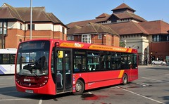 YX09 ADO. First ADL Enviro 44519, Old Cattle Market Bus Station, Ipswich, 12th. July 2019. (Crewcastrian) Tags: ipswich buses first easterncounties ipswichreds transport dennis alexander enviro yx09ado 44519