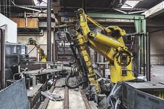 KV9A8228-HDR-1_DxO (wernkro) Tags: duisburg nordrheinwestfalen deutschland hydraulikarm lostplace urbexen robots hdr krokor germany industrie