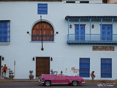 Havana_MG_5082 (Alfred J. Lockwood Photography) Tags: evening architecture building classiccar people cubans taxidriver cuba havana spring streetphotography travel 1951chevydeluxe convertible alfredjlockwood travelphotography