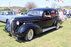 Hudson Terraplane HEV135 (Andrew 2.8i) Tags: classics meet show cars car classic weston westonsupermare american saloon sedan prewar war pre vintage veteran hudson terraplane