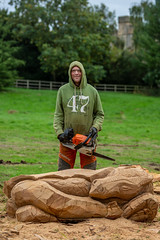 Woodland Festival 2018 (Derbyshire County Council) Tags: woodlandfestival elvaston elvastoncastle derbyshire countrysideservice derbyshirecountycouncil countrypark chainsaw sculpture sculptor dragon